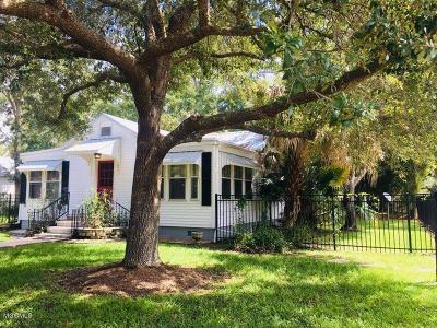 Ocean Springs Single Family Home For Sale: 1601 Porter Ave