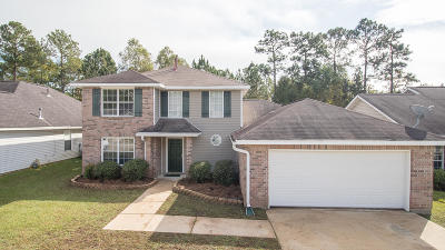 Gulfport Single Family Home For Sale: 11246 River Bend Dr