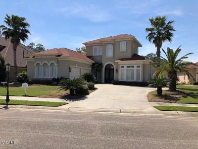 Ocean Springs Single Family Home For Sale: 5611 Via Ponte