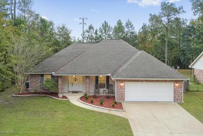 Diamondhead Single Family Home For Sale: 5715 Alkii Way