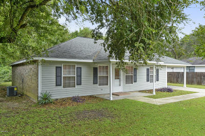Bay St. Louis Single Family Home For Sale: 415 Sycamore St