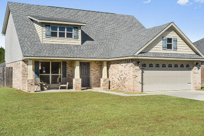 Gulfport Single Family Home For Sale: 18010 Homestead Ct