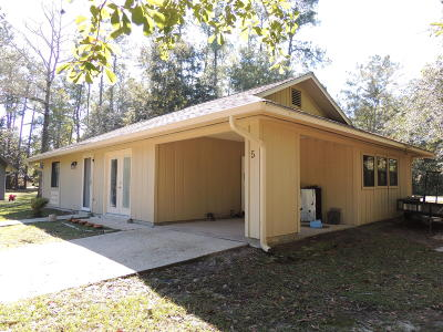Diamondhead Single Family Home For Sale: 5 Timber Park