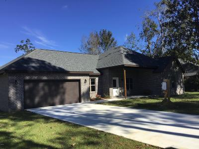 Diamondhead Single Family Home For Sale: 73630 N Diamondhead Dr