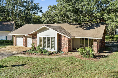 Gulfport Single Family Home For Sale: 3 Hanging Oak Cir