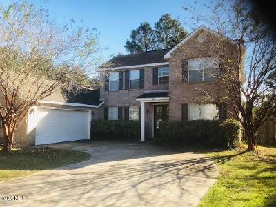 Ocean Springs Single Family Home For Sale: 2102 Shelby Ln