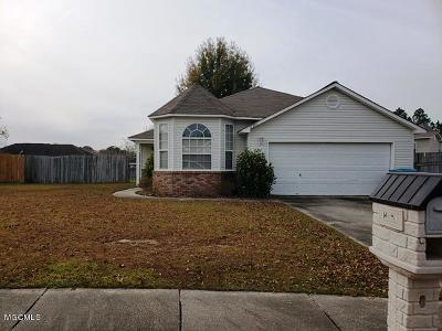 Gulfport Single Family Home For Sale: 11381 Fairfield Ln
