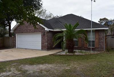 Diamondhead Single Family Home For Sale: 9717 Pokai St