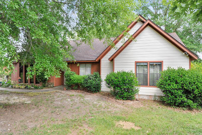 Gulfport Single Family Home For Sale: 18398 Robinson Rd
