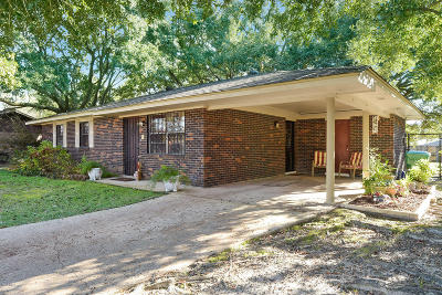 Gulfport MS Single Family Home For Sale: $89,000