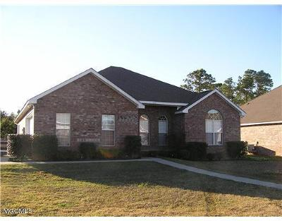 Biloxi Single Family Home For Sale: 6501 Ryegrass Ln