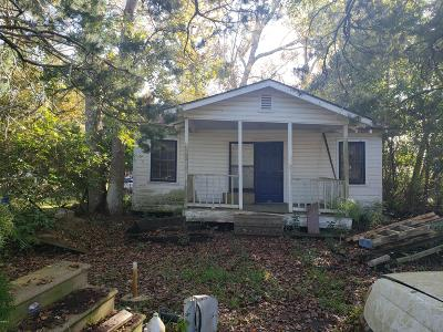Waveland Single Family Home For Sale: 815 Spruce St