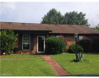 gulfport Single Family Home For Sale: 62 Woodforest Dr
