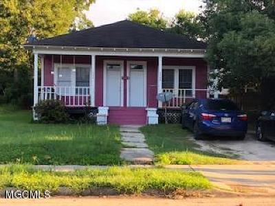 Gulfport Single Family Home For Sale: 3406 12th St