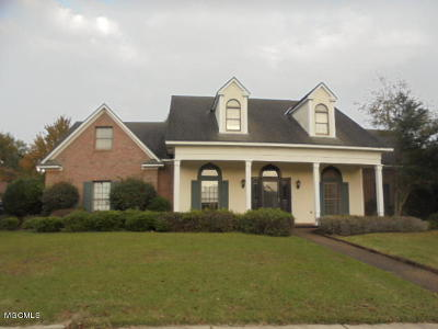 Biloxi MS Single Family Home For Sale: $274,900