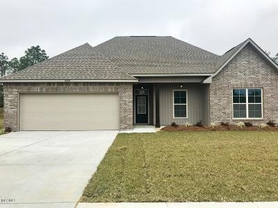 Ocean Springs Single Family Home For Sale: 12828 Jackson Lee Dr