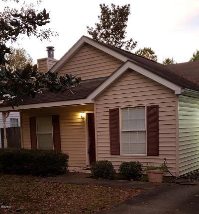 Diamondhead Single Family Home For Sale: 9532 Laa La Way