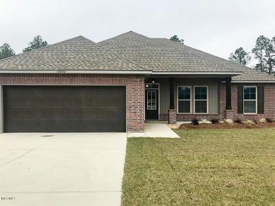 Ocean Springs Single Family Home For Sale: 12832 Jackson Lee Dr