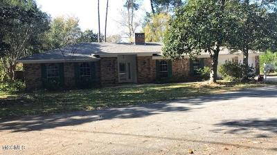 Ocean Springs Single Family Home For Sale: 13825 La Cala St