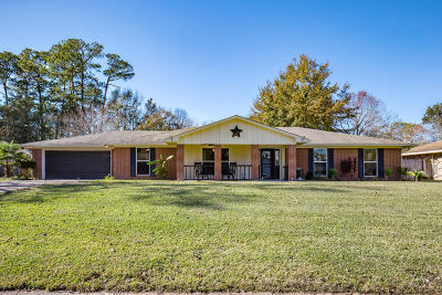Ocean Springs Single Family Home For Sale: 1509 Churchill Dr