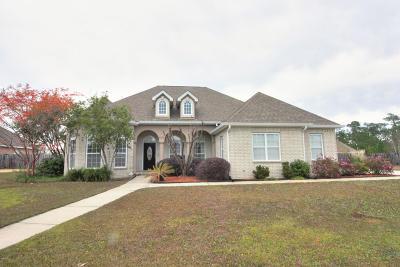Ocean Springs Single Family Home For Sale: 6105 E Mossy Oak Dr