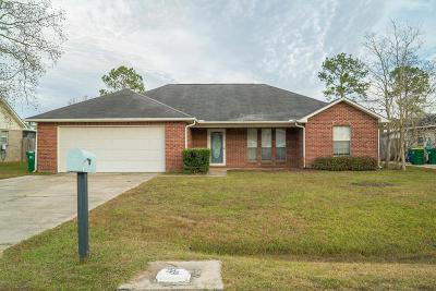 Ocean Springs Single Family Home For Sale: 10700 Maple St