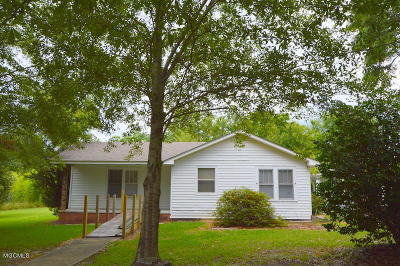 Gulfport Single Family Home For Sale: 16048 Duckworth Rd