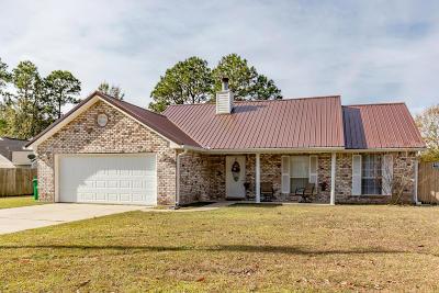 Ocean Springs Single Family Home For Sale: 3113 N 6th St