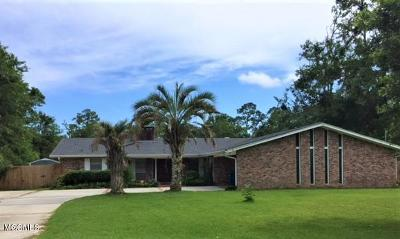 Ocean Springs Single Family Home For Sale: 13701 Paraiso Rd