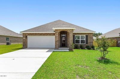 Ocean Springs Single Family Home For Sale: 6821 Sweetclover Dr