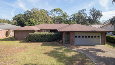 Gulfport Single Family Home For Sale: 241 Oakwood Dr