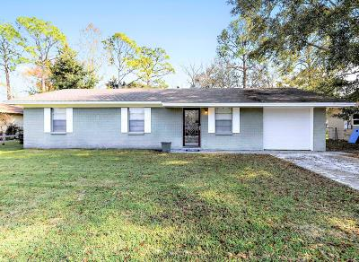 Ocean Springs Single Family Home For Sale: 6624 Columbus Cir