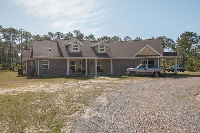 Long Beach Single Family Home For Sale: 20347 Jones Mill Rd