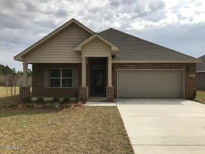 Ocean Springs Single Family Home For Sale: 6857 Sweetclover Dr