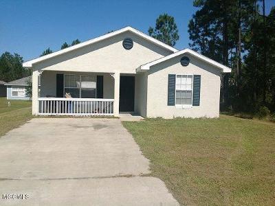 Bay St. Louis Single Family Home For Sale: 6234 W Lamar St