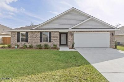 Biloxi Single Family Home For Sale: 9035 Bellewood Pl