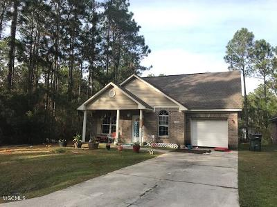 Bay St. Louis Single Family Home For Sale: 6232 E Oktibbeha St