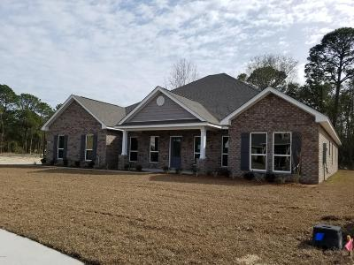 Ocean Springs Single Family Home For Sale: 6401 Chickory Way
