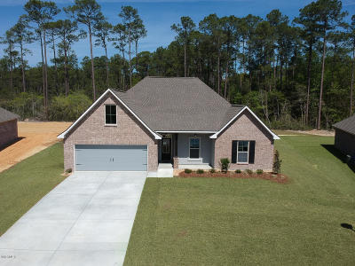 Ocean Springs Single Family Home For Sale: 11709 Brookstone Dr
