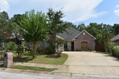 Gulfport Single Family Home For Sale: 11501 Briarstone Pl
