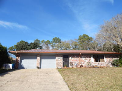 Ocean Springs Single Family Home For Sale: 12412 Cambridge Blvd