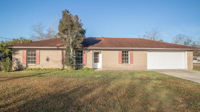 Long Beach MS Single Family Home For Sale: $128,499