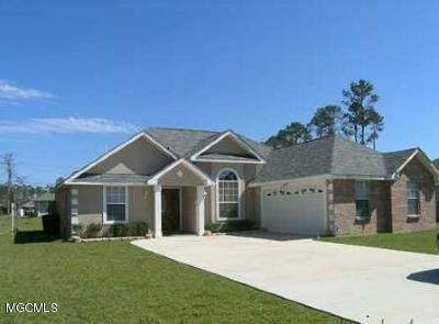 Ocean Springs Single Family Home For Sale: 3304 N 6th St