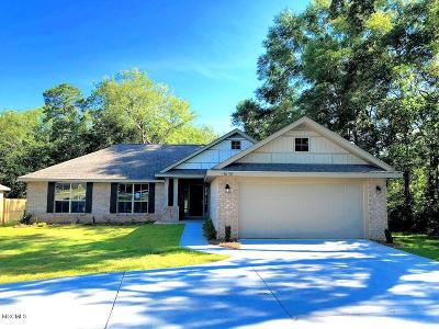 Gulfport Single Family Home For Sale: Lot 7 Brookfield Dr