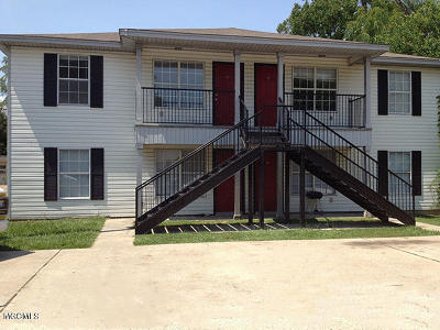 Biloxi Multi Family Home For Sale: 274 Mc Donnell Ave