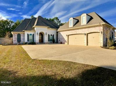 Ocean Springs Single Family Home For Sale: 3325 Oakleigh Cir