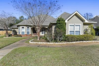 Ocean Springs Single Family Home For Sale: 2113 Whitney Oaks Dr