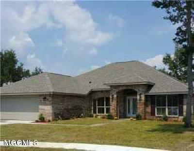 Gulfport Single Family Home For Sale: Lot 4 North Swan