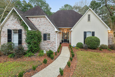 Ocean Springs Single Family Home For Sale: 3505 Sandpiper Ct