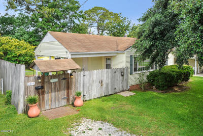 Gulfport Single Family Home For Sale: 3601 Washington St